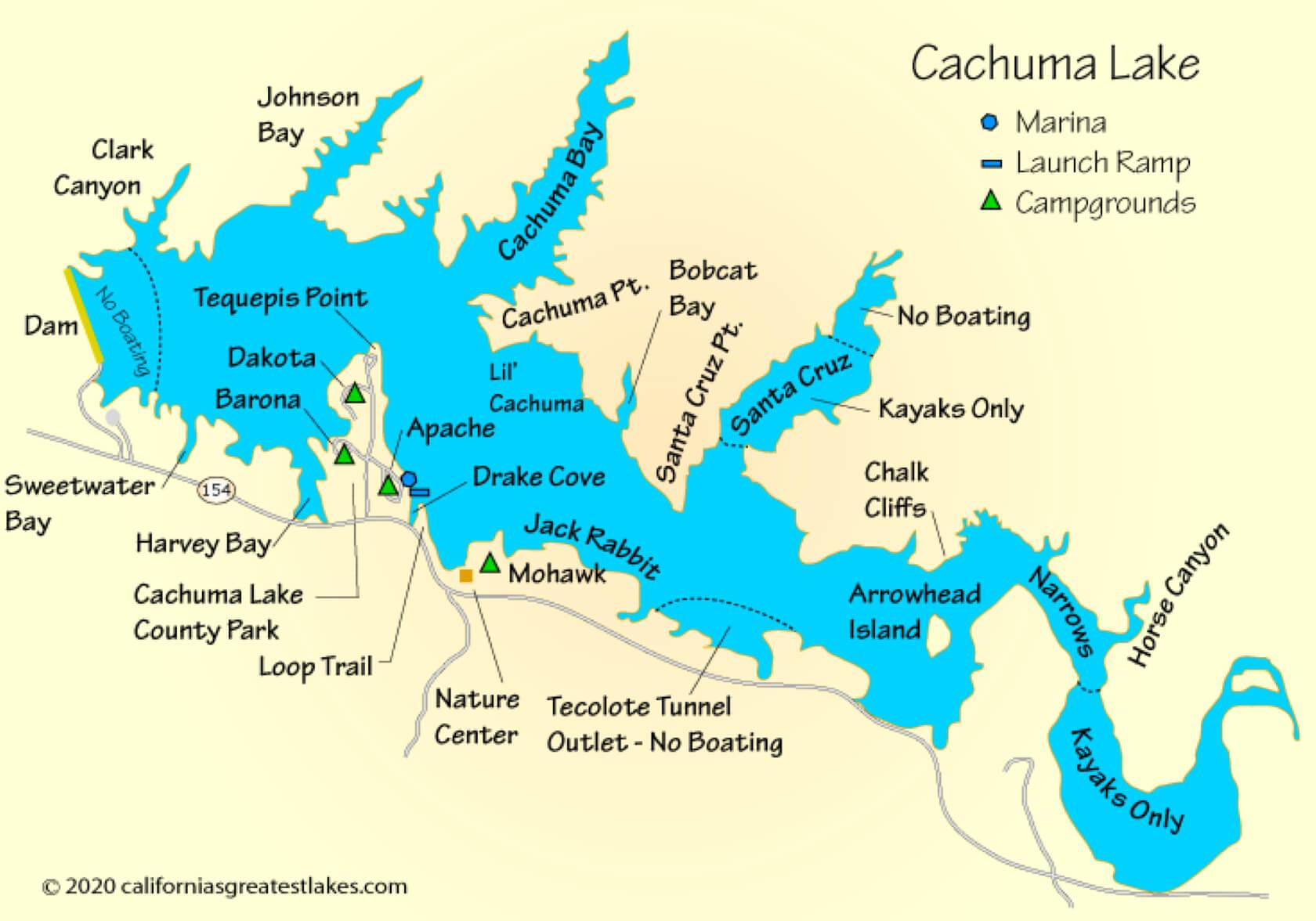 Cachuma-Lake-fishing-guide-Map-report-santa-barbara-ca-07