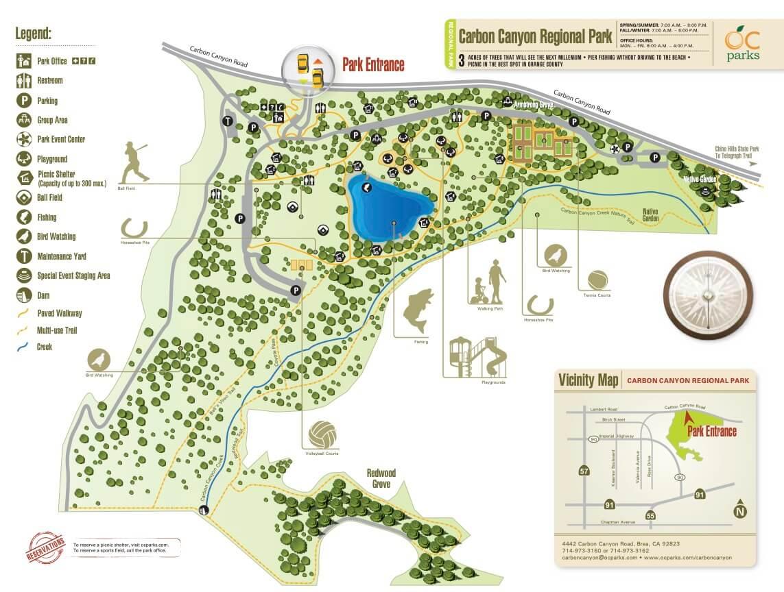 Carbon-Canyon-Lake-Map