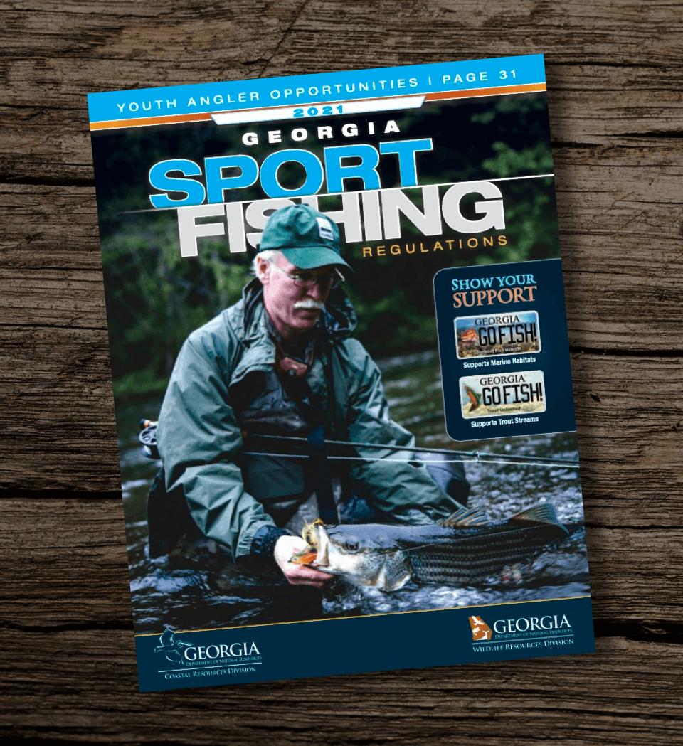 Georgia-Fishing-Guidebook-DNR-Regulations-Report-2021