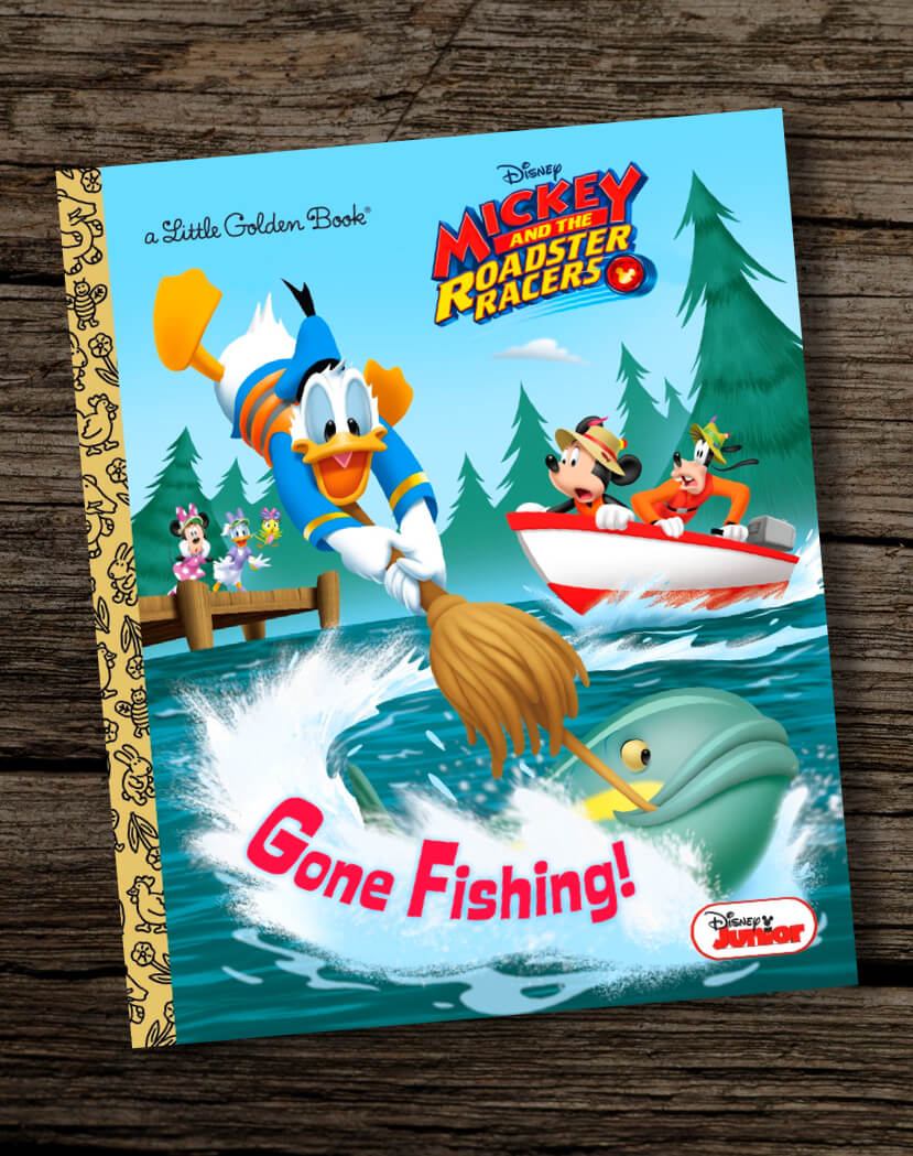 Gone-Fishing-Disney-Junior-Mickey-and-the-Roadster-Racers-Golden-Book