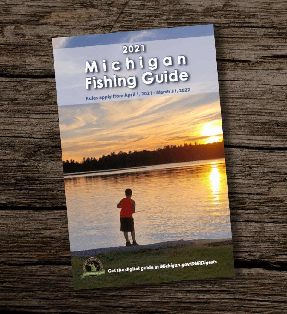Michigan-Fishing-Guidebook-GFC-Regulations-Report-2021