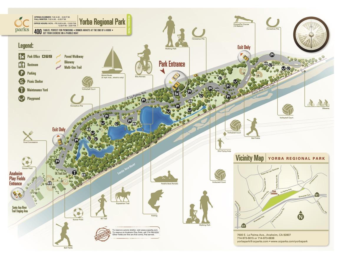 Yorba-Regional-Park-Lake-Map