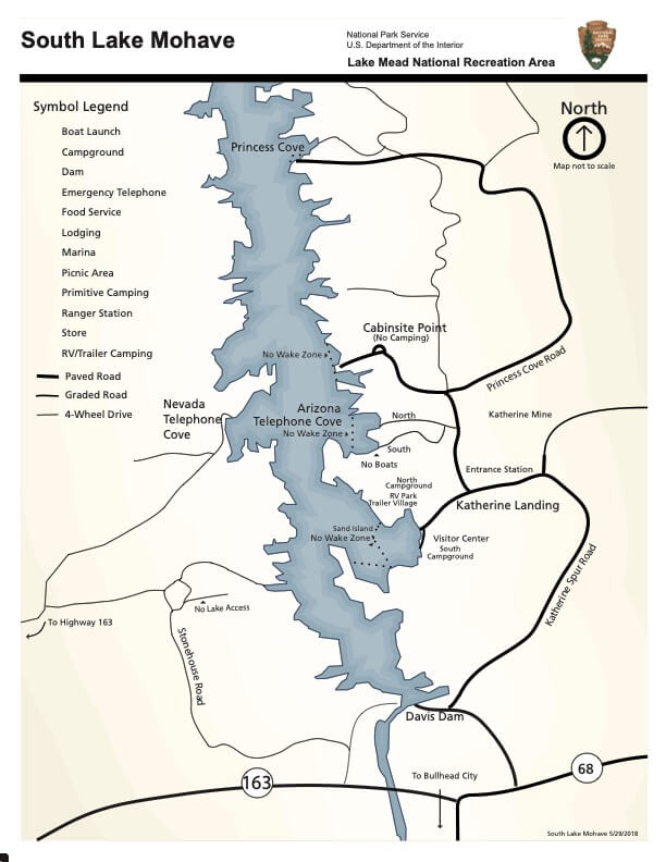 South-Lake-Mohave-Map