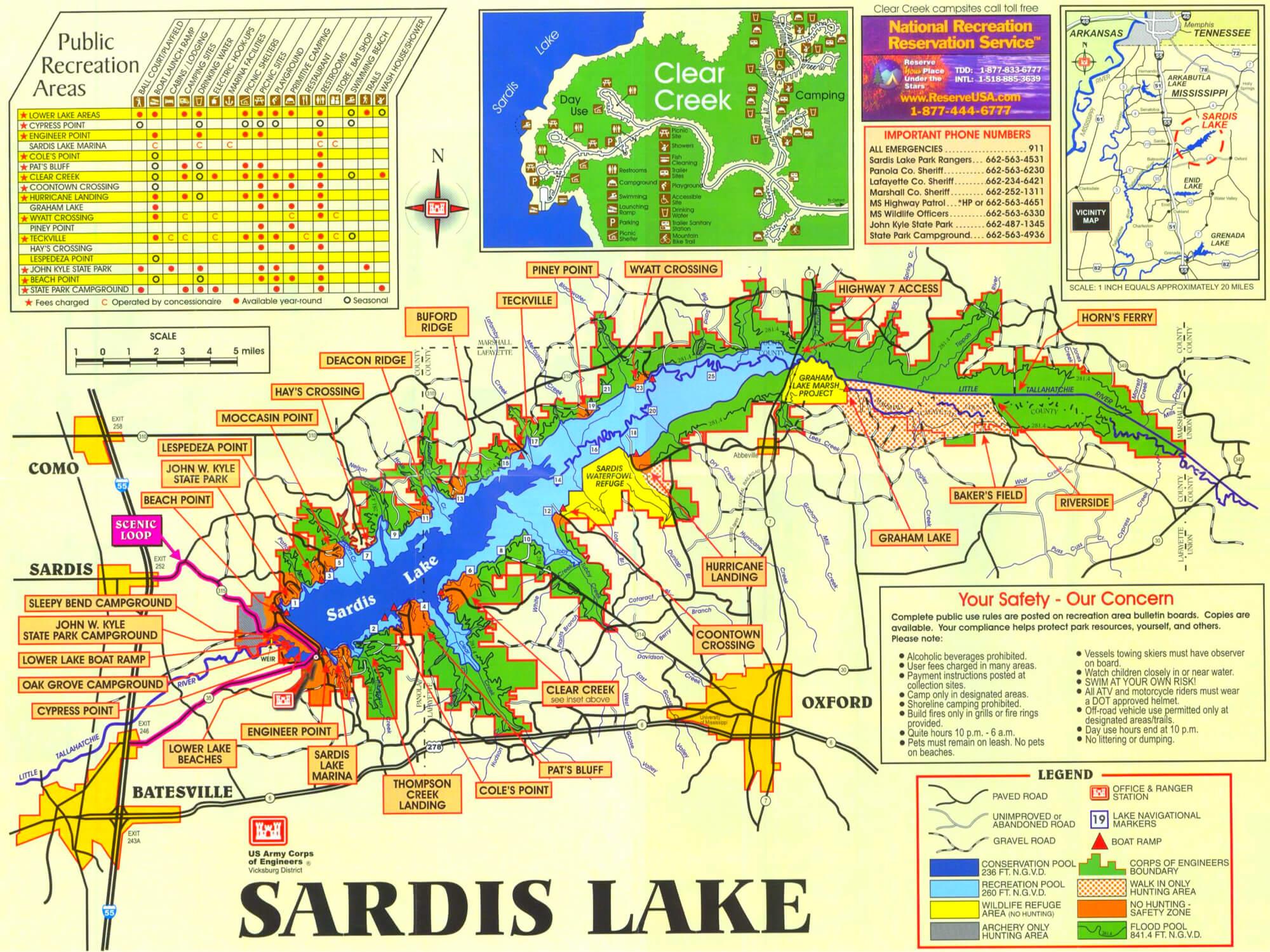 Sardis-Lake-Fishing-Map-Mississippi-MS-05 Copy